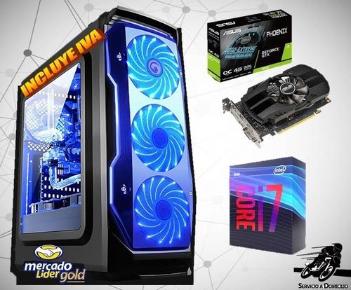 Cpu Gamer Intel Core I7 9na 1tb+ssd 240gb 8gb Gtx1050 4gb