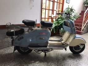 Siambretta Restaurada De Cero, En Excelente Estado Con Motor