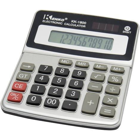 Calculadora Mesa Kk-1800 Kenko 12dig Nota Fiscal