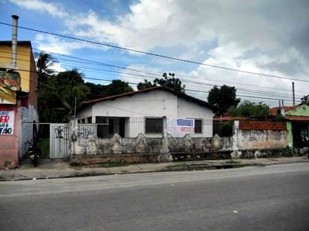 Casa/terreno Na Messejana - 3 Quartos, Área De Serviço, Vaga