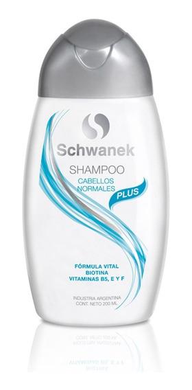 Shampoo Schwanek Cabellos Normales Caída De Cabello