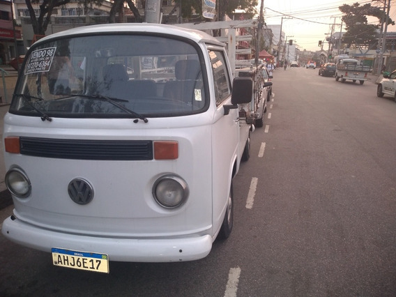Kombi 1998 Pick Up Carroceria De Madeira Kit Gas Vistoriada