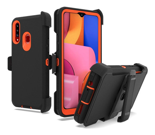 Unc Pro 3 In 1 Belt Clip Holster Cell Phone Case For Samsung