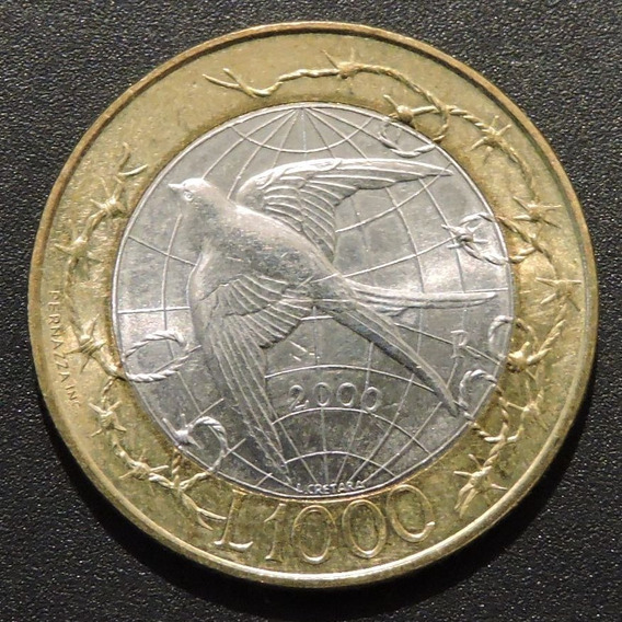 San Marino 1000 Liras 2000
