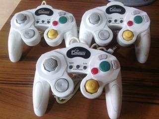 Control Nintendo Gamecube Blanco En Perfecta Condiciones