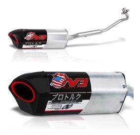 Escapamento Moto Pro Tork V3 Honda Biz
