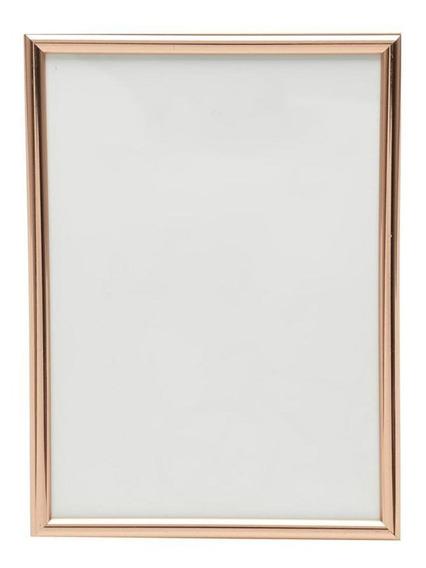 Porta-retrato Basic Copper Da Urban, 14x19cm, Cobre - 42874