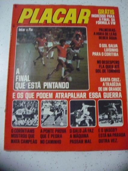Revista Placar 346 Vasco Inter Flamengo Atletico Santa 1976