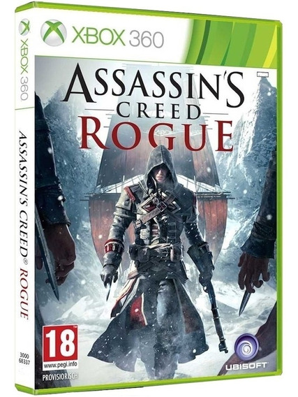 Jogo Assassins Creed Rogue Xbox360 Disco Fisico Cd Original