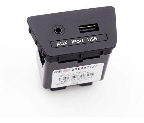 Imagen 1 de 1 de Conector Auxiliar Usb iPod Hyundai Tucson 2011/2014