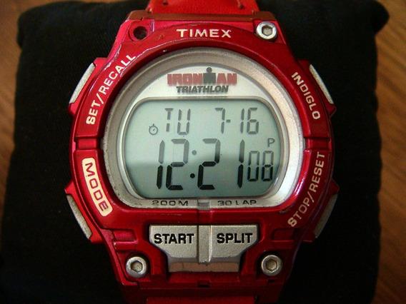 Reloj Timex Shock Ironman 30 Lap Memory 200 M.
