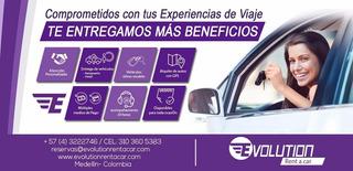 Alquiler De Carros Y Camionetas En Medellin Y Rionegro