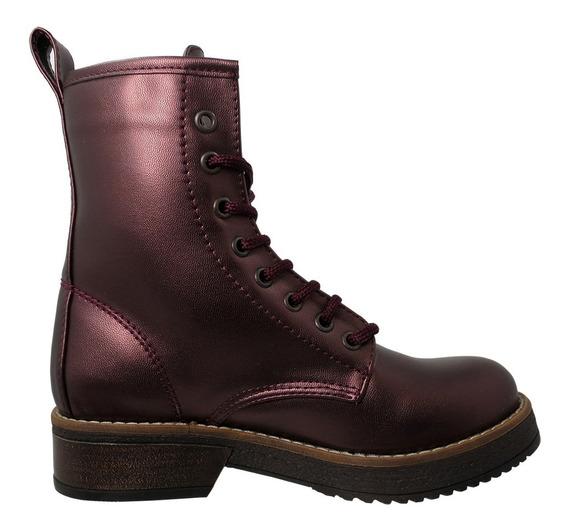 Zapatos Dama Botas Estilo Urbano Comodas 33-vika Mosca