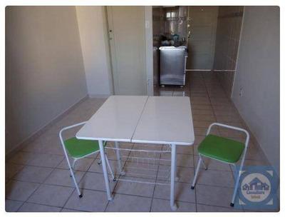 Kitnet Com 1 Dormitório Para Alugar, 25 M² Por R$ 950/mês - Centro - São Vicente/sp - Kn0454