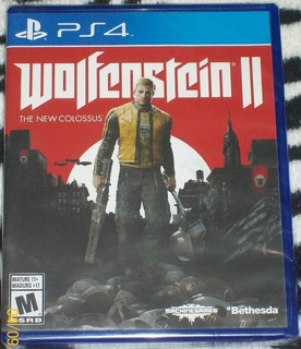 Wolfenstein 2 The New Colossus Ps4 (en Cd)