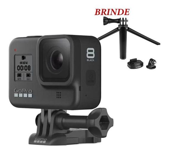 Câmera Gopro 8 Black Edition +1 Brinde - Tripe Original