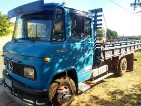 Caminhão Mb 608 C/ Carroceria Em Boa Conservação Ano 1980