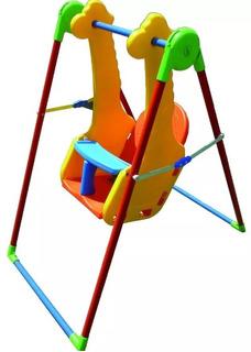 Hamaca Bebe Portico Didactico Jirafita Juegosol 4 A 36 Meses