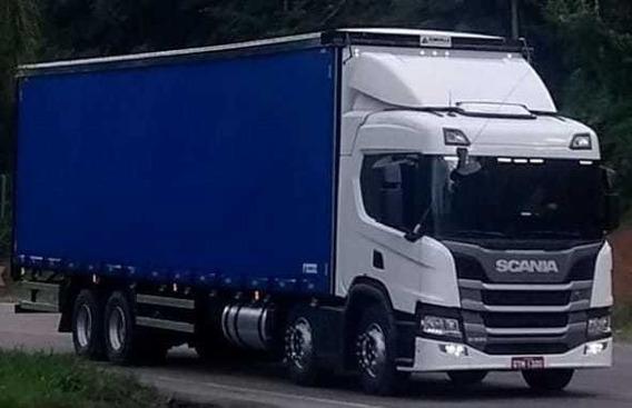 Scania P320 Bitruck Automatico Bau Sider 9.40 Mts 2019