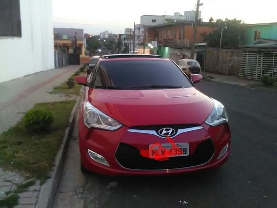 Hyundai Veloster Vermelho 2013 1.6 140cv
