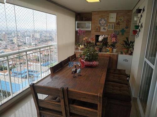 Imagem 1 de 30 de Apartamento Com 3 Dormitórios À Venda, 125 M² Por R$ 1.250.000,00 - Vila Carrão - São Paulo/sp - Ap2747