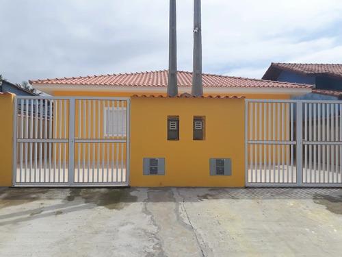 Casa Nova Com 2 Dormitórios/suíte Na Praia De Itanhaém