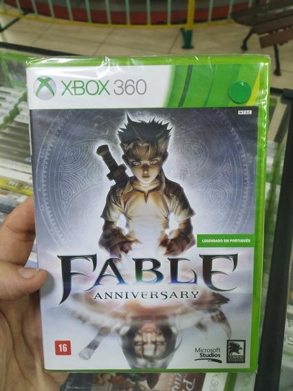 Fable Aniversary Xbox 360 Original Mídia Física Lacrado Novo