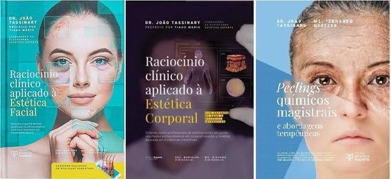 Kit Raciocínio Clínico Estética Facial + Corporal + Pellings
