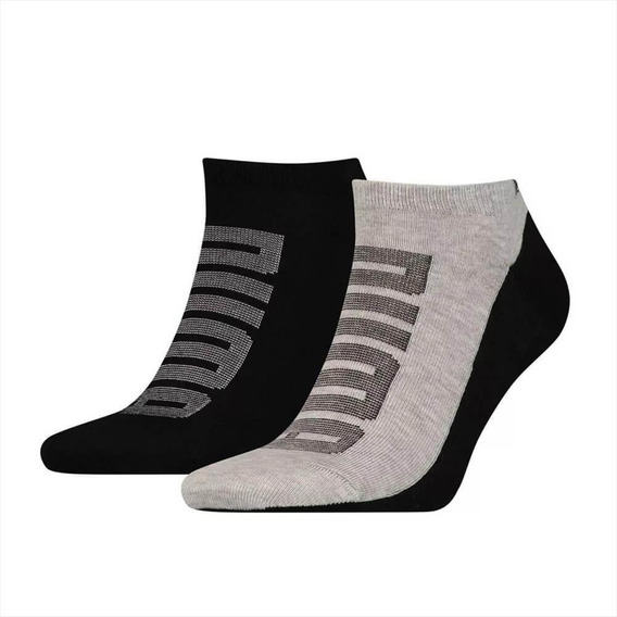 Zoquete Puma Hombre Sneakers 2p Logo Negro/gris