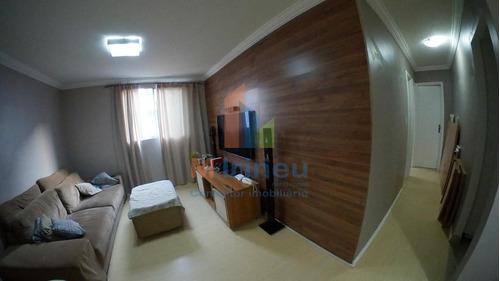 Imagem 1 de 14 de Apartamento Com 2 Dormitórios À Venda, 66 M² Por R$ 209.999,00 - Jardim Ipiranga - Campinas/sp - Ap0037