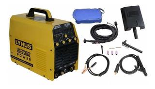 Maquina De Solda Para Aluminio Tig Ac/dc 200 Amp Lynus