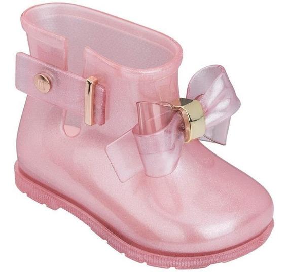 Bota Mini Melissa Sugar Rain Princess