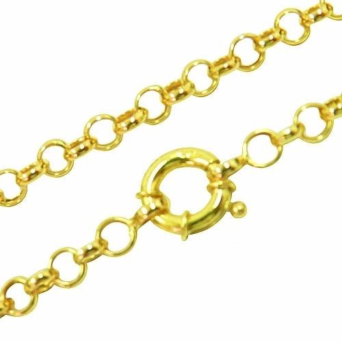 Corrente Em Ouro 18k Portuguesa 50cm
