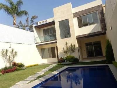 Residencia Minimalista En Vista Hermosa,cuernavaca Morelos.