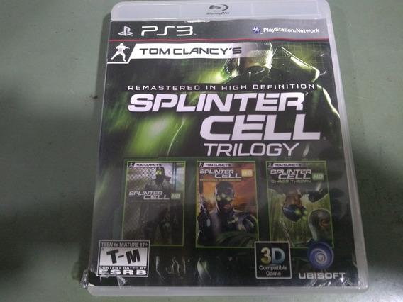 Jogo Seminovo Splinter Cell Trilogy Ps3 Pronta Entrega!!!!!