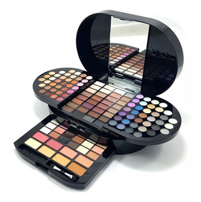 Paleta Maquiagem Jasmyne Profissional Sombras Blush Luisance