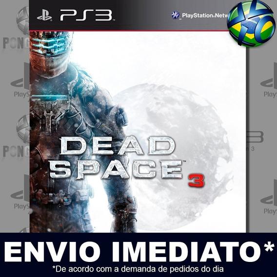 Dead Space 3 Ps3 Psn Jogo Em Promoção A Pronta Entrega
