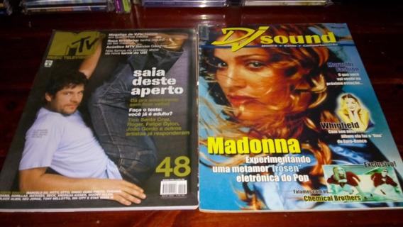 Revistas Músical Dj Sound Madonna Mtv Music Television 48