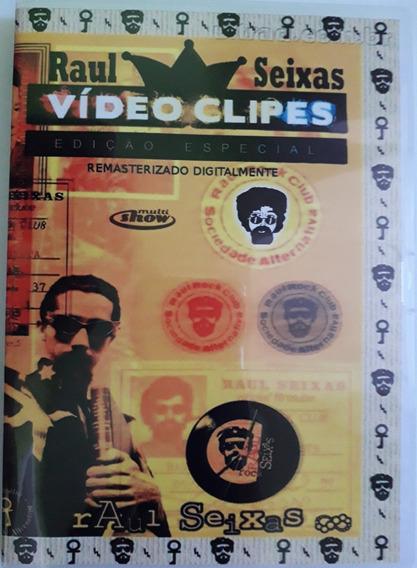 Dvd Raul Seixas - Vídeo Clipes (lacrado)