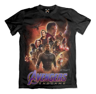 Camiseta Vingadores All Dead ? Endgame Avengers Ultimato