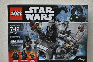 Star Wars Darth Vader Transformation Lego 75183