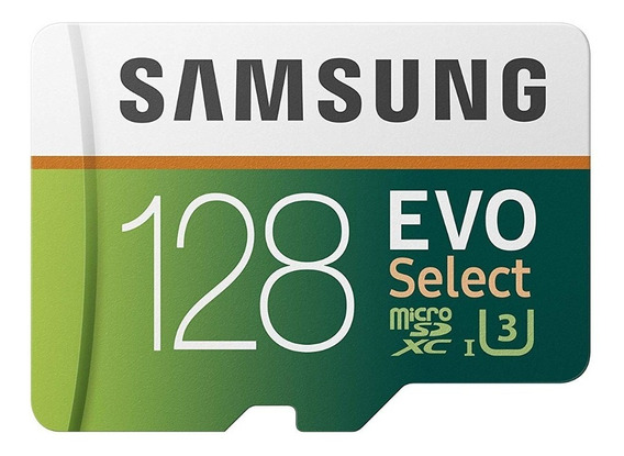 Cartão Micro Sd Samsung 128gb 100mb/s U3 4k Original Lacrad