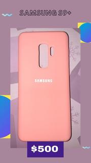 Silicone Case Para Samsung S9+ S9 S8 S10