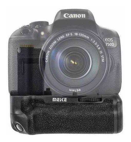 Grip Bateria Canon 750d T6i Suporte Bateria Meike