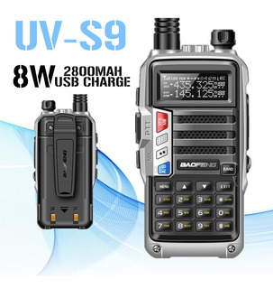 Baofeng Uv-s9 - Transceptor De Radio Walkie Talkie Cb (8 W,