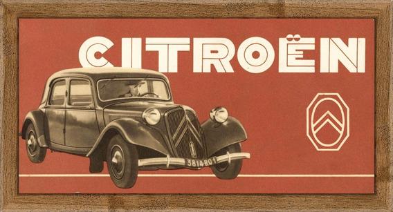 Citroën Poster Enmarcado Cuadros Carteles A713