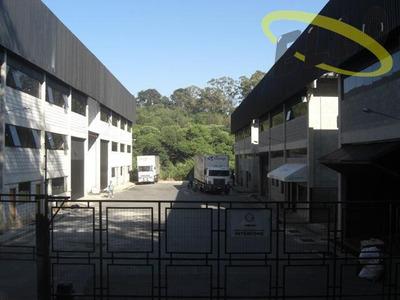 Galpão Industrial E Logistico Em Condomínio Na Granja Viana - Ga0036