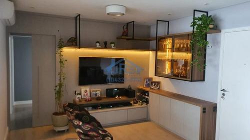 Condomínio London Ville Apartamento Com 3 Dormitórios À Venda, 107 M² Por R$ 1.060.000 - Empresarial 18 Do Forte - Barueri/sp - Ap4058