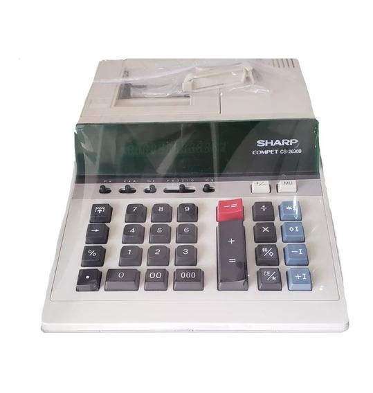Calculadora Sharp Cs2612 - Revisada Usada