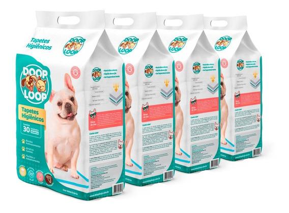 Tapete Higiênico Para Cães 60x60cm 120 Unidades